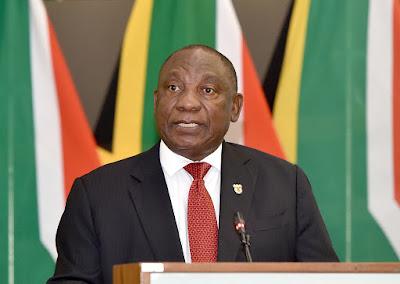 South Africa's President Ramaphosa Announces Easing of Coronavirus Lockdown
