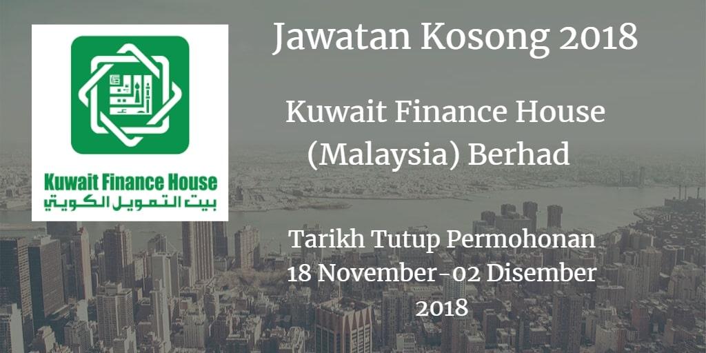 Jawatan Kosong KFH 18 November - 02 Disember 2018