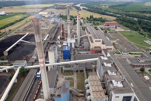 Una central termoeléctrica al uso