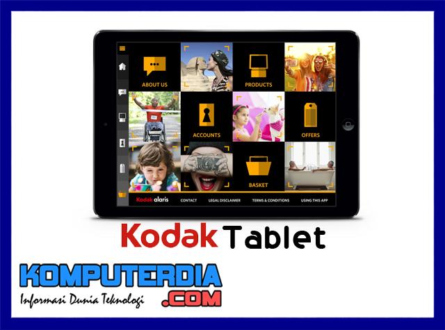 Tablet kodak akan dirilis pertengahan tahun 2017