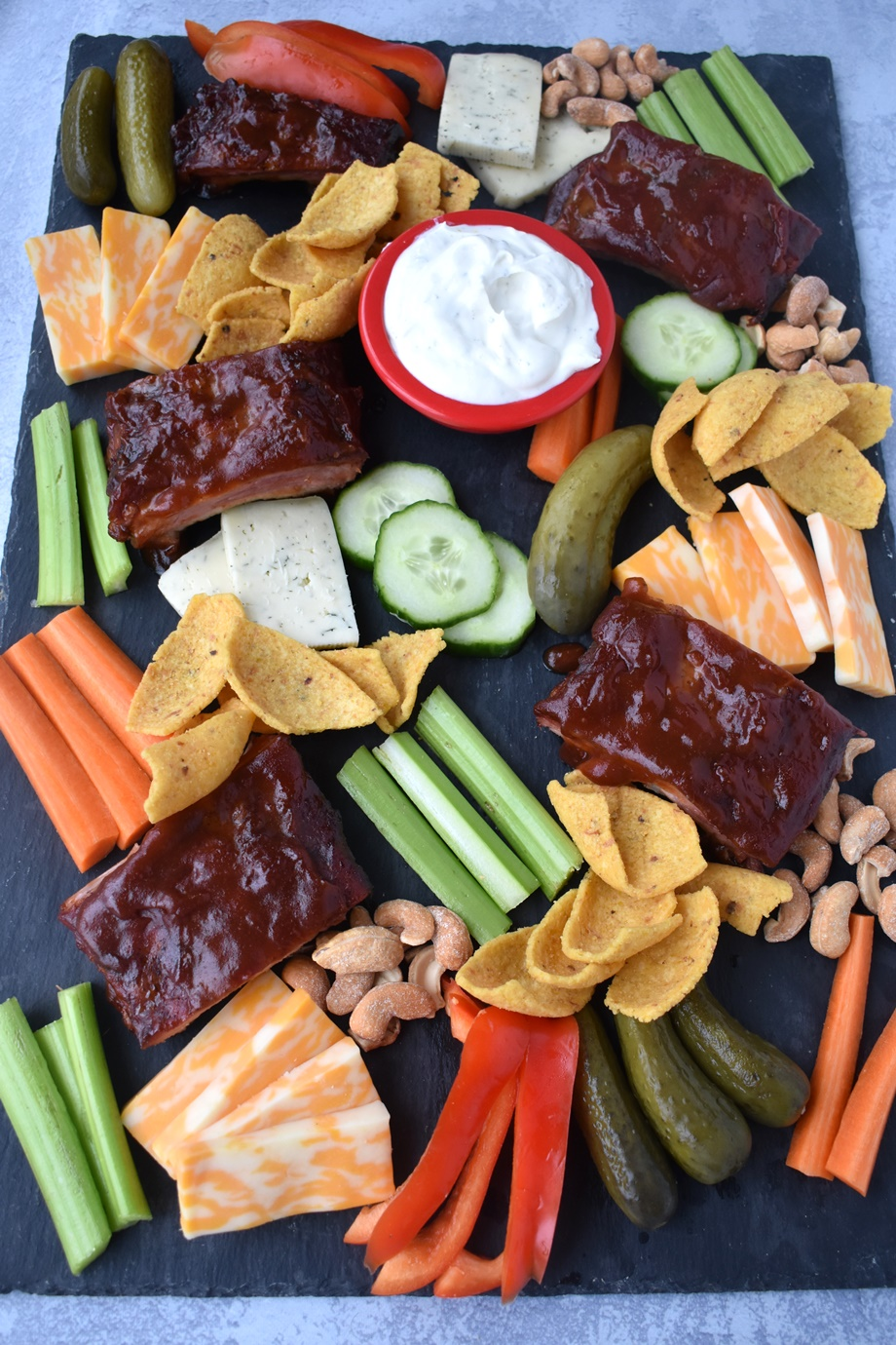 Game Day Appetizer Board