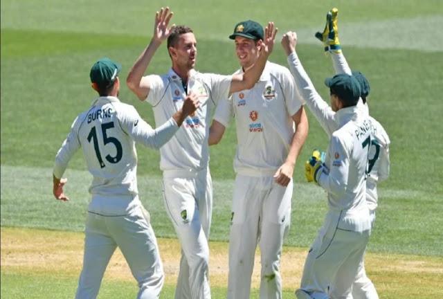 244 रन पर ऑलआउट हुआ भारत, ऑस्ट्रेलिया को 94 रन की बढ़त
