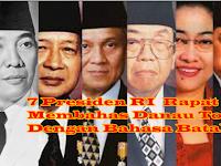 "Jokowi: ""Pos ma roham lae, dang bahenonhu lungun roha ni halak Batak, Inilah Cerita Rapat 7 Presiden Pakai Bahasa Batak Bahas Danau Toba"