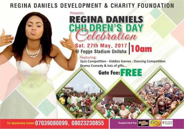 Regina Daniels Charity Foundation 2017