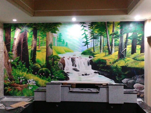 Karya Lukisan Mural