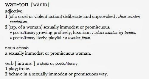 Try These Wanton Definition Archaic {Mahindra Racing}