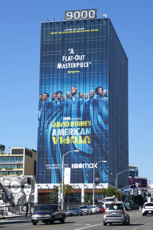 Giant American Utopia HBO billboard