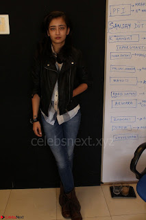Akshara Haasan spotted at an interview for movie Laali Ki Shaadi Mein Laddo Deewana 012.JPG