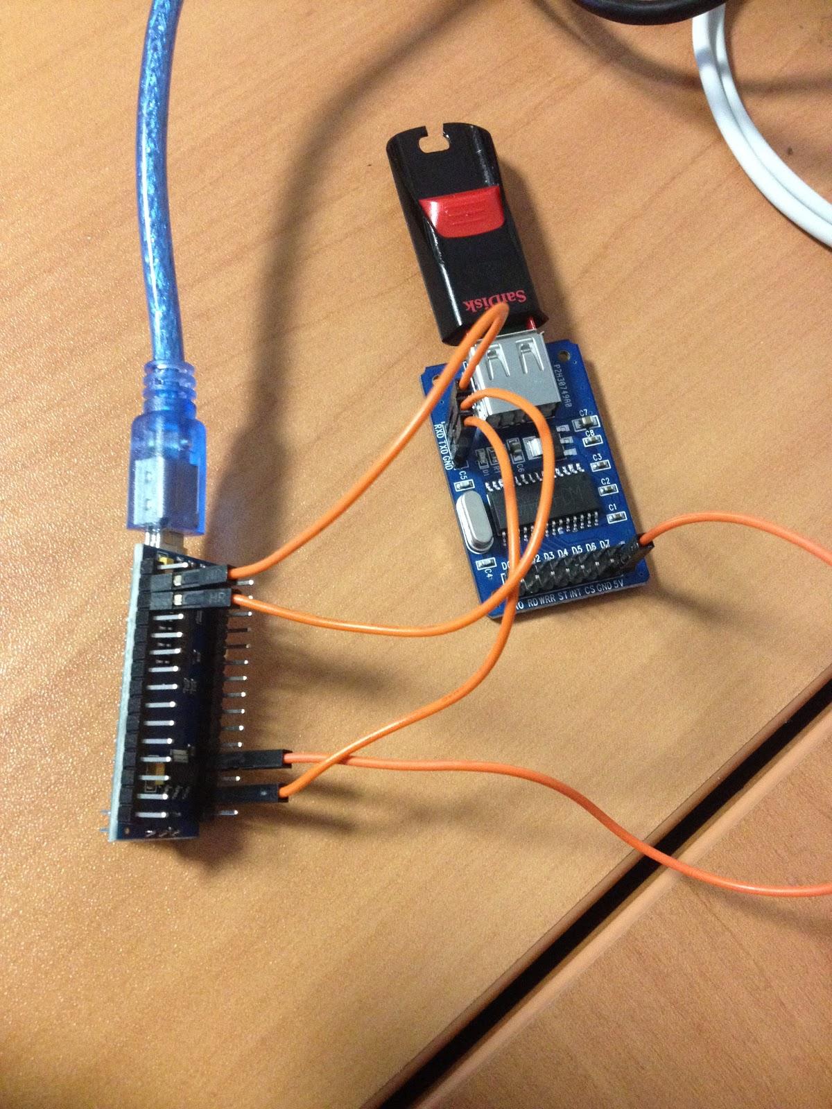 Debian su hardware obsoleto: Arduino e CH376S