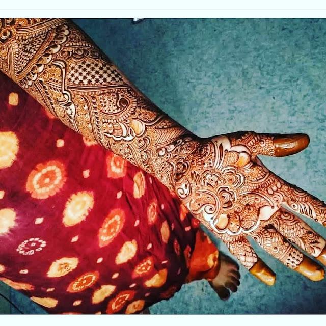 beautiful mehndi designs arabic
