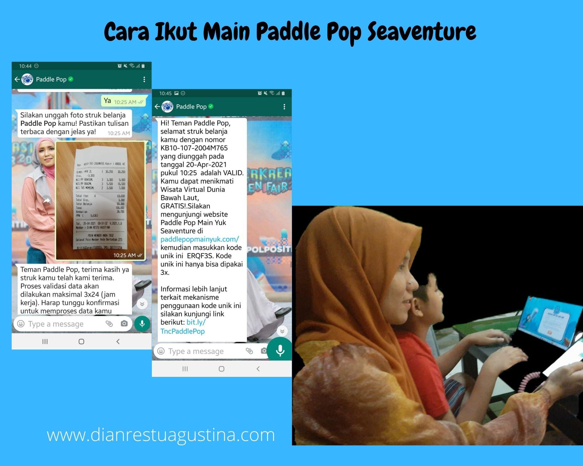 Yuk main di Paddle Pop Seaventure
