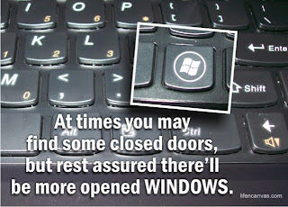 windows key message