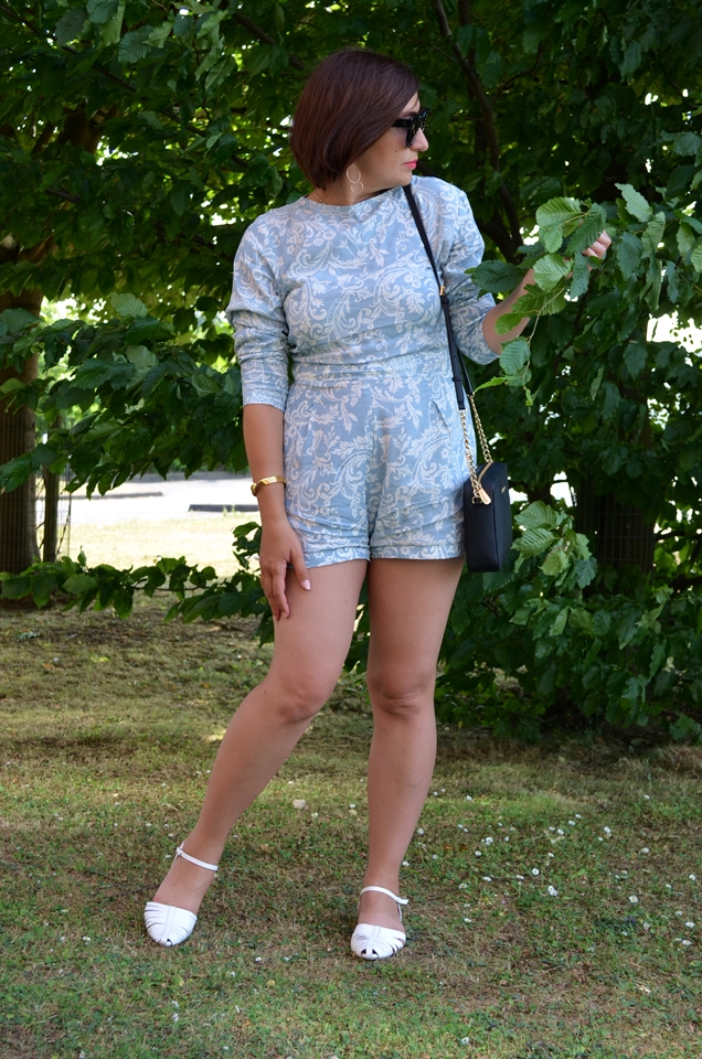 Adriana Style Blog, blog modowy Puławy, Fashion, Fashion Blog, Kombinezon, Letni kombinezon, moda, Outfit of the Day, Playsuit, Stylizacja, summer playsuit