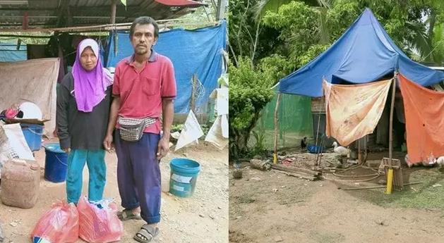 Tinggal di Bawah Terpal Usang, Ayah Ini Bisa Sekolahkan 3 Anaknya Hingga Sarjana