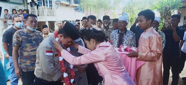 Al Haris Kunjungi Rumah Kelahiran Makalam, H Kamil dan Kolonel Abundjani