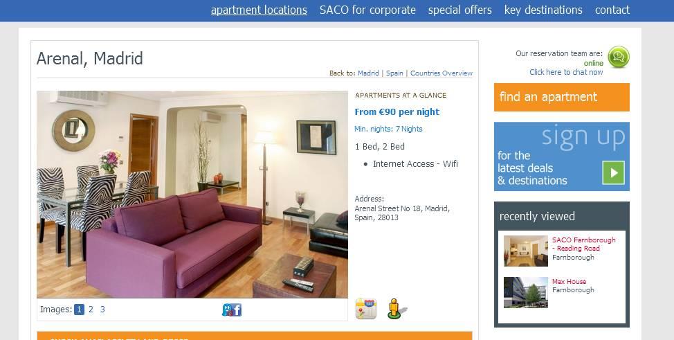 Craigslist Madrid Apartments