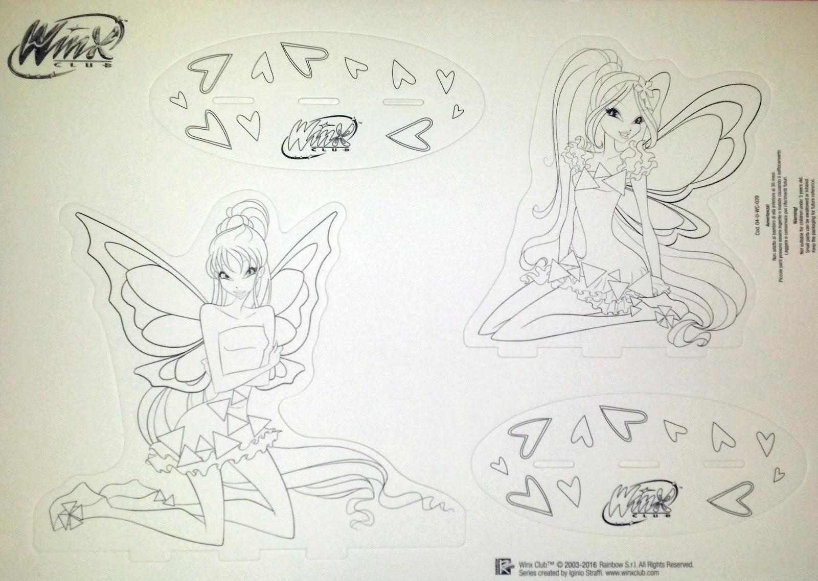 Winx Tynix: Imagens Para Colorir