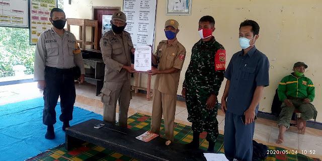 Validasi Calon Penerima BLT Dana Desa Pemerintah Pekon Marga Jaya Gelar Musyawarah