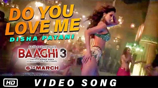डू यू लव मी Do You Love Me Lyrics in Hindi and English – Baaghi 3