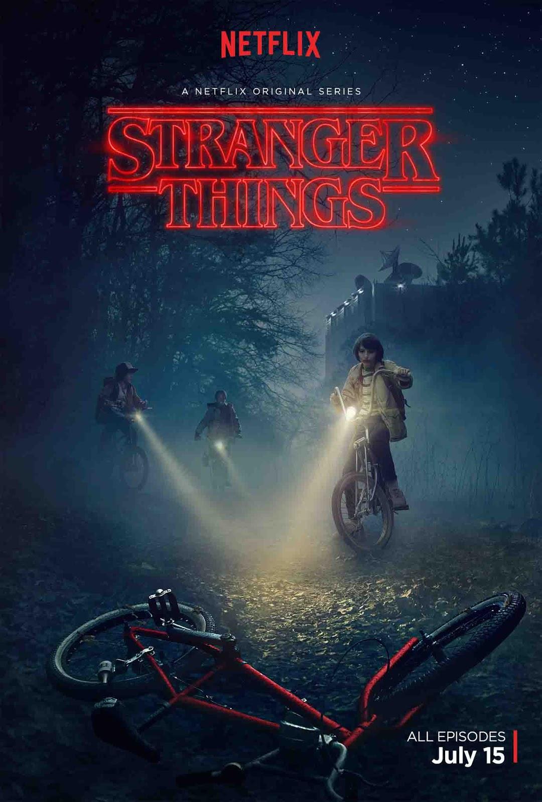 Stranger Things 1ª Temporada Torrent - WEBRip 720p/1080p/4K Dual Áudio