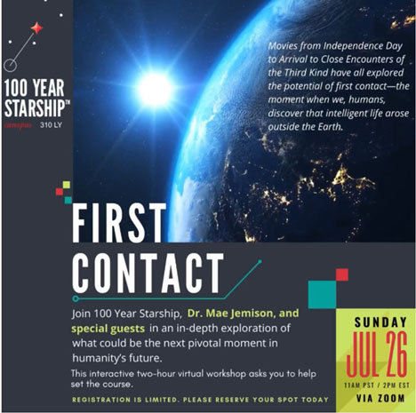 First Contact workshop (Source: https://100yss.org/)