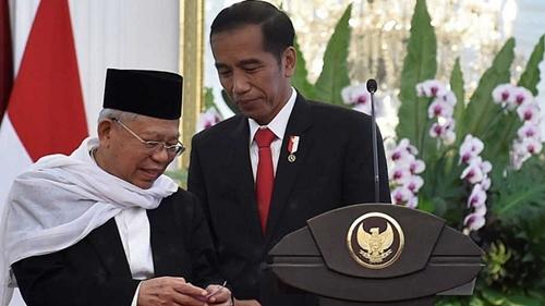 Ma'ruf Amin Sudah Diajak Bicara Jokowi soal Reshuffle Kabinet