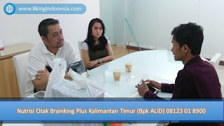 PROMOSI, 08123 01 8900 (Bpk. Alid),  Nutrisi Otak Brainking Plus Kalimantan Timur