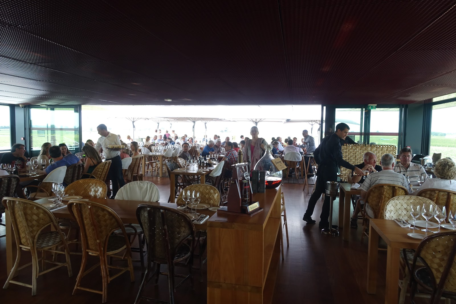 Schiller Wine Lunch At Restaurant La Terrasse Rouge