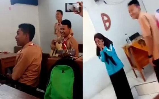 Video: Tingkah Para Siswa Saat Tidak Ada Guru di Kelas