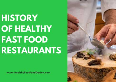 History of Healthy Fast Food Restaurants