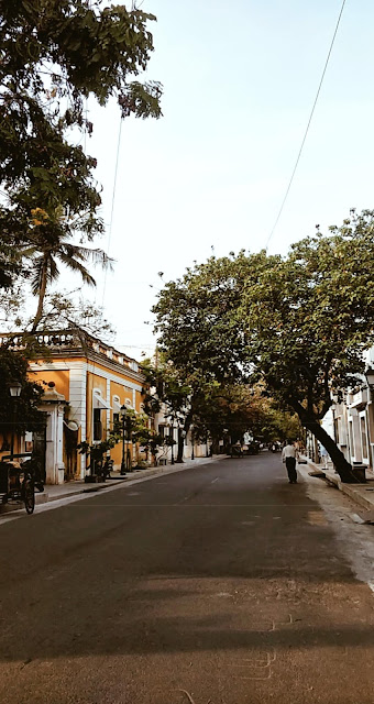 Pondicherry-travel-weekend-getaway-style prism-blog-street photography-white town