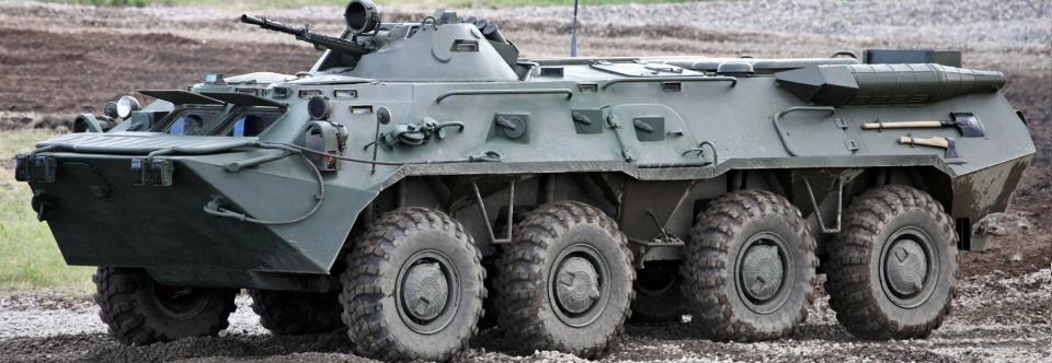 Управління держохорони передало Міноборони три БТР-80