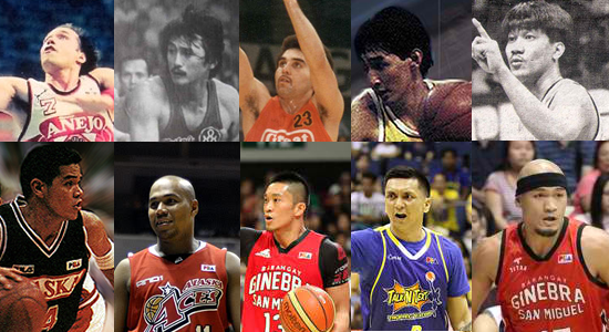 List of PBA Guards (Point guards) Who Became MVP