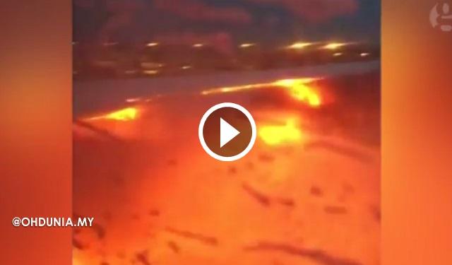Pesawat Singapore Airlines (SIA) Terbakar Dalam Penerbangan ke Milan