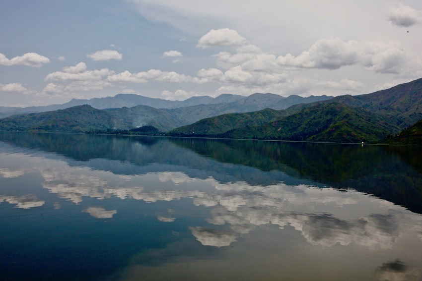 View of the sky and its reflection on Lake Kivu in Goma, North Kivu province, DR Congo by Myriam Asmani 2
