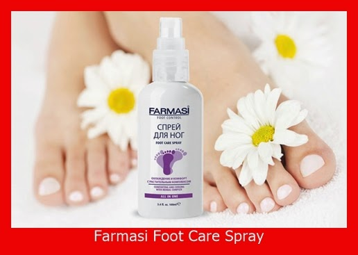 Farmasi Foot Care Spray