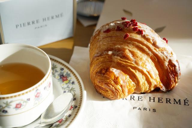 玫瑰荔枝可頌 Croissant Ispahan