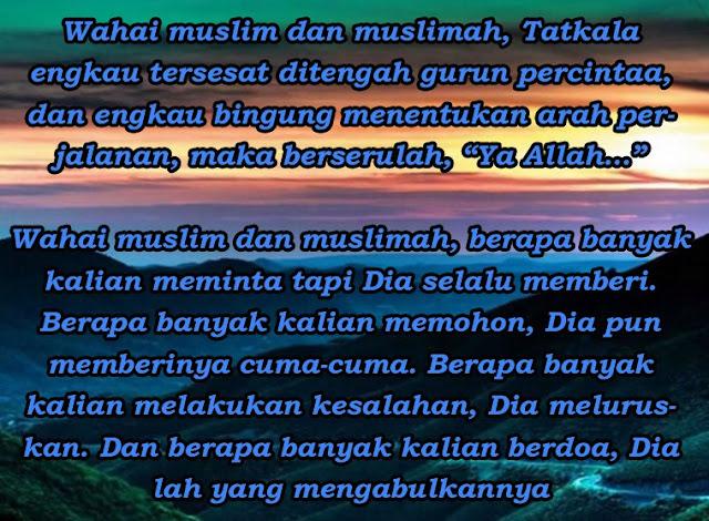 Kata Kata Mutiara Islam yang Dalam Penuh Ketaqwaan dan Motivasi