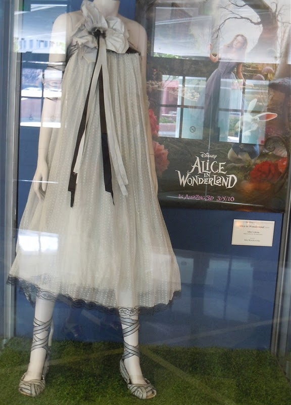 Alice in Wonderland movie dress