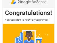 Pengalaman Pertamaku Diterima Google Adsense
