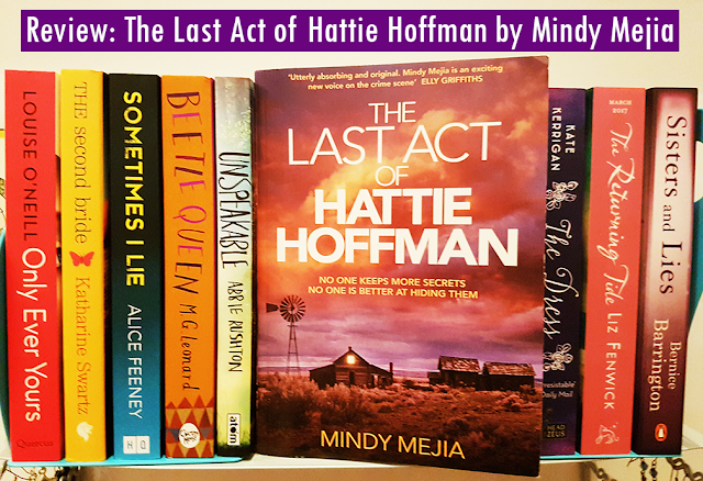 Book Drunk The Last Act Of Hattie Hoffman By Mindy Mejia