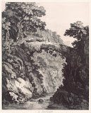 View near Sorrento by Georg Abraham Hackert - Landscape art prints from Hermitage Museum