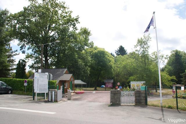 Camping Municipal de Fougeres dove abbiamo sostato in camper