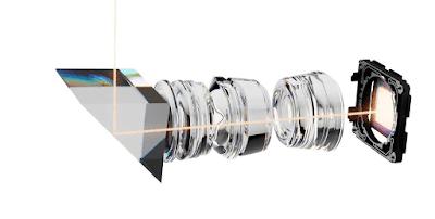 可変式望遠レンズの内部構造のイメージ1