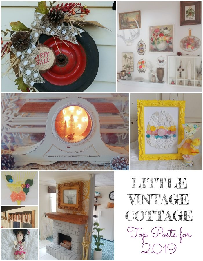 Little Vintage Cottage - Top 12 Posts for 2019