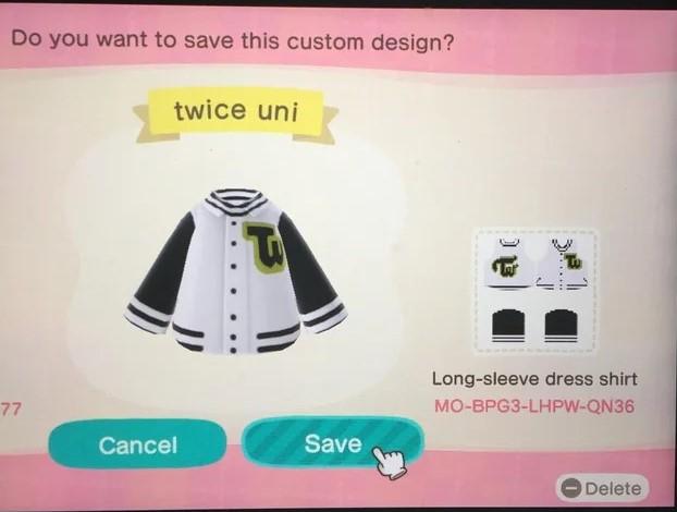 Twice Animal Crossing