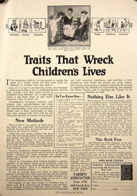 Parents Association - Traits that Wreck Children's Lives