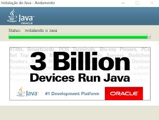 Instalação do Java Tela 2 Téchnedigitus
