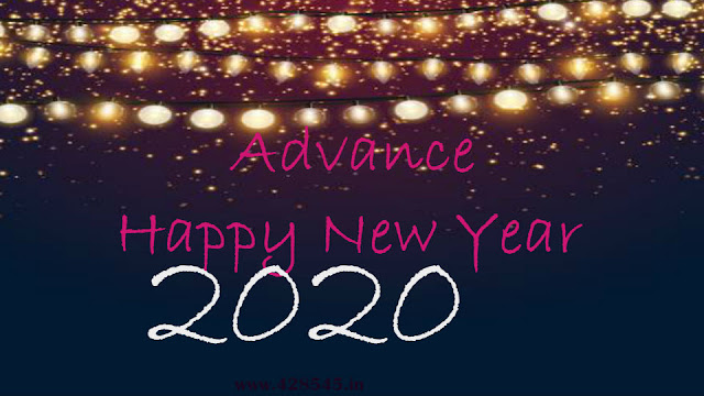 happyadvancehappy new year wishes in hindi 2020