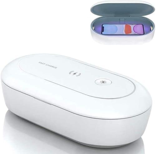 AD ALICE DREAMS Portable Cell Phone UV Light Sanitizer Box